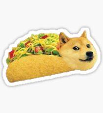 Taco Doge Sticker