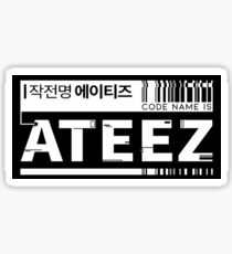 CODE ATEEZ Sticker