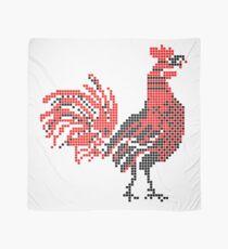 Cock pattern - Romanian Folk Art Scarf