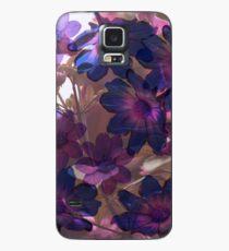 Mystery Garten Lila Hülle & Skin für Samsung Galaxy