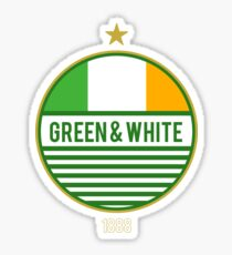 Glasgow's Green & White Sticker