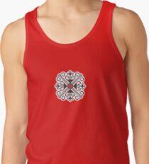 Sacred Flower Folk Art design Men's Tank Top