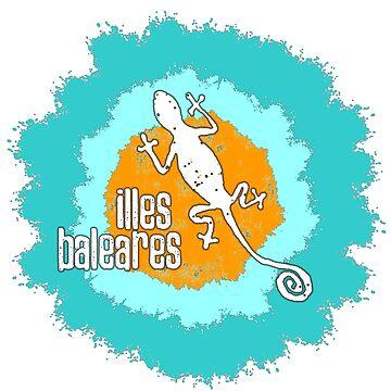 Illes Baleares pop - Das Shirt für Balearen Liebhaber! von Periartwork