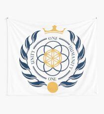 Coat of Arms #Asgardia  #SpaceKingdom #SpaceNation #MicroNation  Wall Tapestry