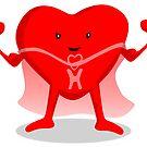 Super Heart by elledeegee