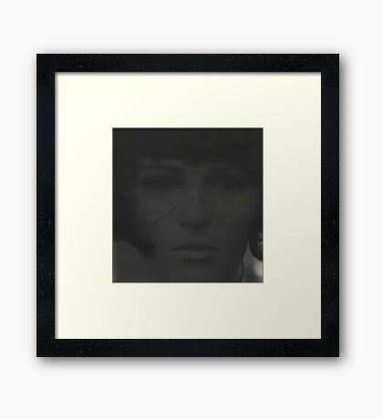 Why did you leave me like this.... Framed Print