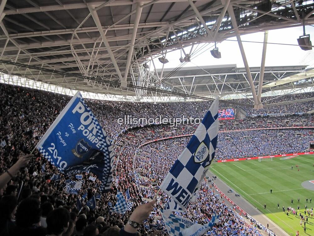 It was a Blue Blue day in Wembley by ellismorleyphto