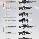 Weapons of the Australian Rifle Section (Modern) by nothinguntried