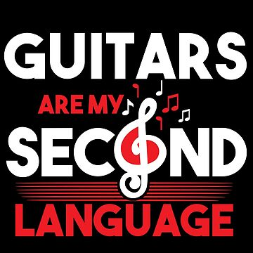 Guitar language by GeschenkIdee