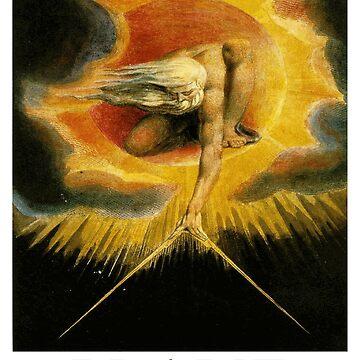 «Création de l'univers par William Blake» par Chunga