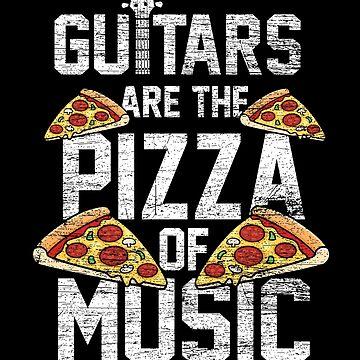 Guitar pizza by GeschenkIdee