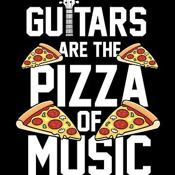 Pizza guitar by GeschenkIdee