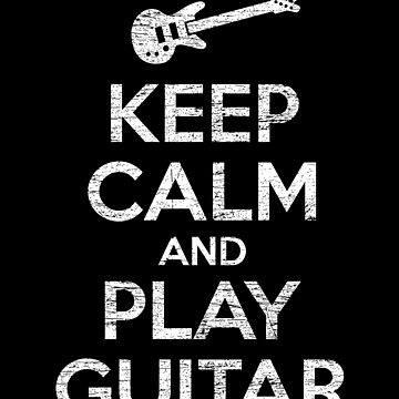 Guitar reassurance by GeschenkIdee