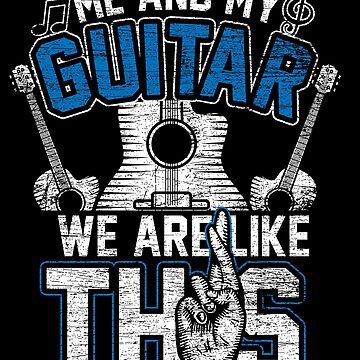 Guitar instrument by GeschenkIdee