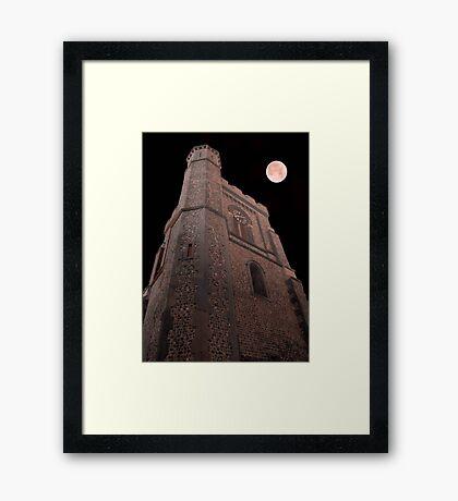 I await for you!!! ©  Framed Print