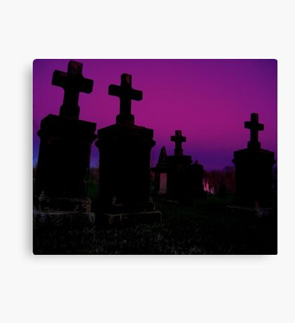 Crosses Canvas Print