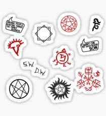 Pegatina Sigiles y símbolos sobrenaturales