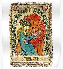 Tarot Card - Strenght Poster