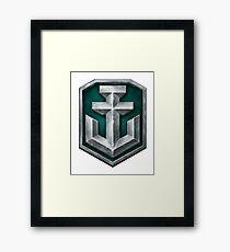 World of Warships Logo Framed Print