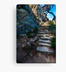 Creepy Stairs Canvas Print