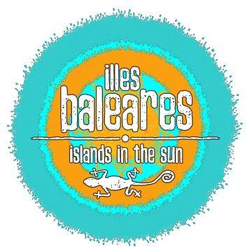 Illes Baleares - Das Shirt für Balearen Liebhaber! von Periartwork