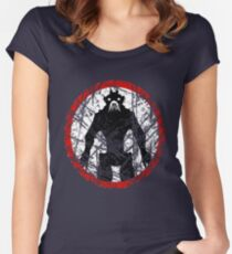 District 9 ( I.E.D. Edition.) Women's Fitted Scoop T-Shirt
