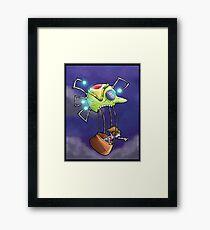 balloon ride... Framed Print