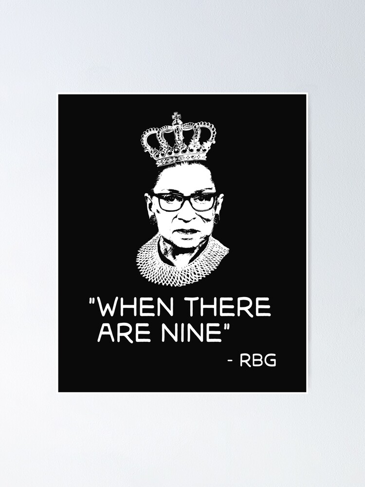 Alternate view of Copy of Notorious Ruth Bader Ginsburg (RBG)  Poster