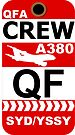 QF Airbus A380 Crew Sydney by AvGeekCentral
