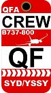 QF Boeing 737-800 Crew Sydney by AvGeekCentral