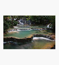 Waterfall Cascades Photographic Print