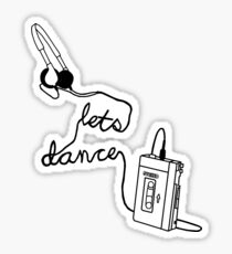 80s Dance Mix Stickers | Redbubble