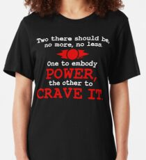 iincubii: Rule Of Two - Power, Crave It (White) Slim Fit T-Shirt