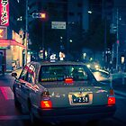 Late night taxi ride by Guillaume Marcotte