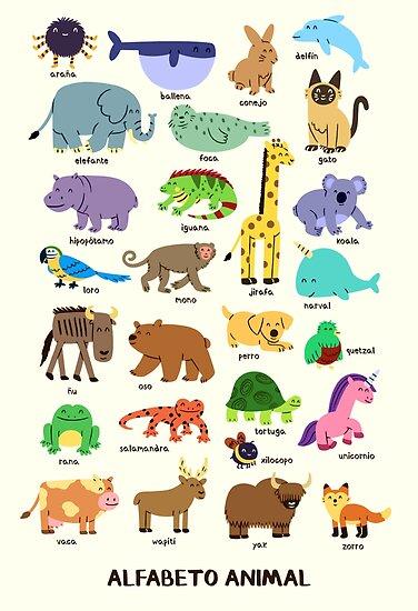 Alfabeto Animal by Andrew Thomas