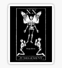 Judgement Tarot XX Sticker Sticker