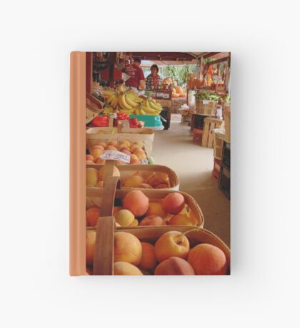 Fresh Georgia Peaches Aroma Hardcover Journal