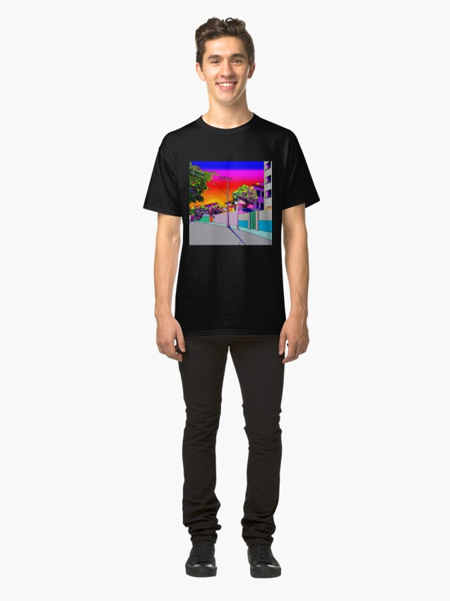 Alternate view of Sunset Feels Classic T-Shirt