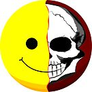 See the Skull behind every Smile! by W4rnings