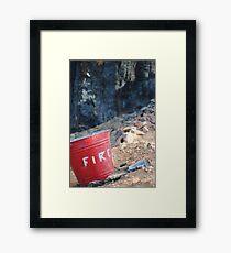 Fire? Framed Print