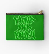 Stomp and Crush - 2015 - Green Zipper Pouch