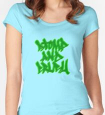 Stomp and Crush - 2015 - Green Fitted Scoop T-Shirt