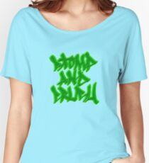 Stomp and Crush - 2015 - Green Relaxed Fit T-Shirt