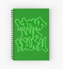 Stomp and Crush - 2015 - Green Spiral Notebook