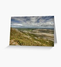 Slieve Carran View Greeting Card