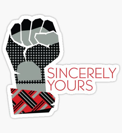 Sincerely Yours, The Breakfast Club Glossy Sticker