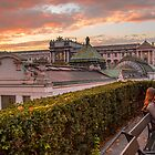 Austria. Vienna. Sunset in the Imperial City. by vadim19