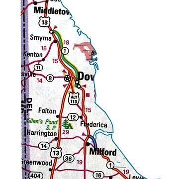 Hoja de ruta de Delaware de Havocgirl