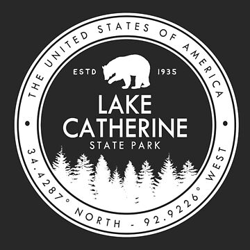 Lake Catherine State Park Wyoming Souvenirs WY by fuller-factory