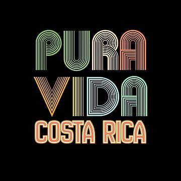 Vacation Summer Design - Pura Vida Costa Rica by kudostees